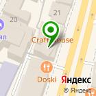 Местоположение компании КАЗМОНЕТА
