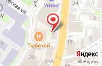 Схема проезда до компании ВокиТоки в Казани