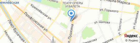 Кафедра на карте Казани