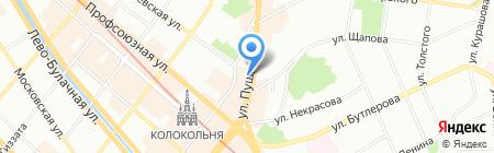 БАМБУКИ на карте Казани