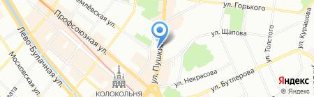 АКИБАНК на карте Казани