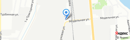 Транспортникофф на карте Казани