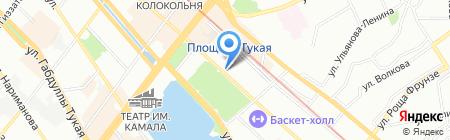 Диабет-контроль на карте Казани