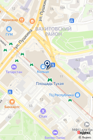 МАГАЗИН ОДЕЖДЫ MAG на карте Казани