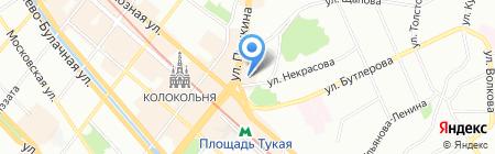 Infiniti на карте Казани
