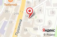 Схема проезда до компании Таймас в Казани