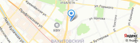 Артифекс на карте Казани
