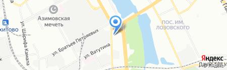 ЛюксДом на карте Казани