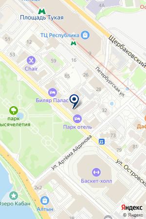 ОХРАННОЕ ПРЕДПРИЯТИЕ РУБИН на карте Казани