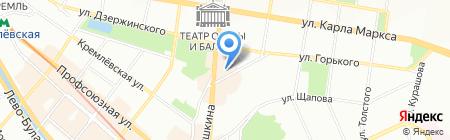 Мир недвижимости на карте Казани