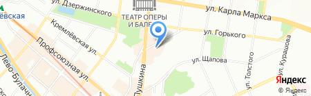 Мир оконных конструкций на карте Казани
