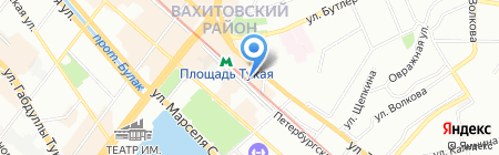 Книжки и Фишки на карте Казани