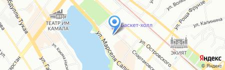 Каравелла на карте Казани