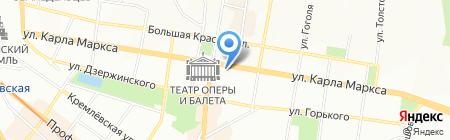 ДиаМед на карте Казани