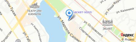 Астория Косметик на карте Казани