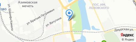 Золотое колесо на карте Казани