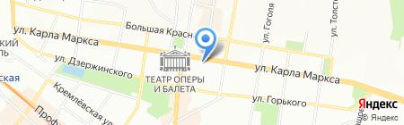 Rue de la mode на карте Казани