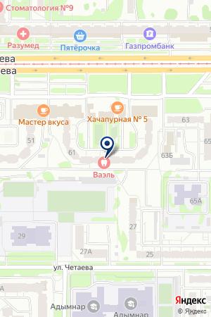 ФИНАНСОВО-СТРОИТЕЛЬНАЯ КОМПАНИЯ МОСТАФ на карте Казани