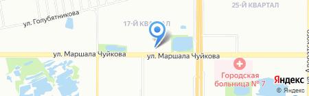 ПФ Юлдаш на карте Казани