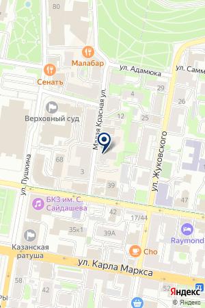 ТВОРЧЕСКАЯ МАСТЕРСКАЯ ТОКАРЕВЫХ на карте Казани