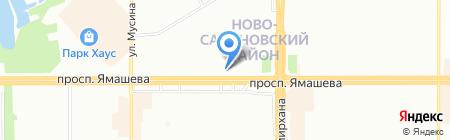 Климат №1 на карте Казани