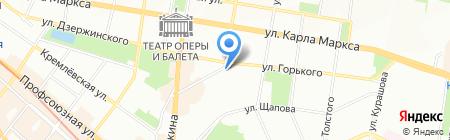 Барадеро на карте Казани