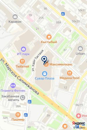 АВТОСАЛОН АВТОЛАЙФ на карте Казани