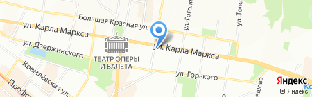 Семейная стоматология 33 на карте Казани