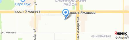 Фруктовый мир на карте Казани