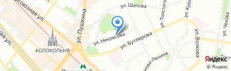 Фаворит тур на карте Казани