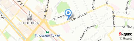 ЭВЭНТУМ на карте Казани