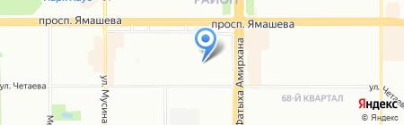 Детский сад №411 на карте Казани