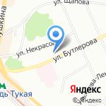 Мэлт на карте Казани