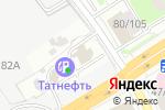 Схема проезда до компании Авто-Транс Казань в Казани