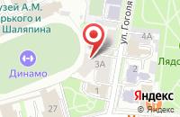 Схема проезда до компании Горпечать в Казани