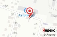Схема проезда до компании Почтовое отделение №99 в Озерном