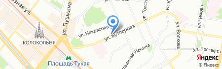 Счастье рядом на карте Казани