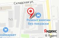 Схема проезда до компании Мирхан в Казани