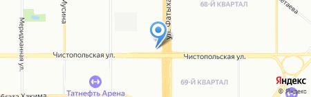 Тулпар на карте Казани