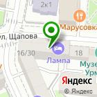 Местоположение компании Адвокатский кабинет Гильманова И.Х.