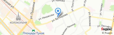 Восток на карте Казани