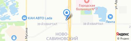 Гамма-Сталь-Поволжье на карте Казани