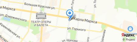 Мишель на карте Казани