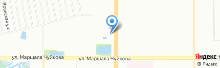 Рубаи на карте Казани