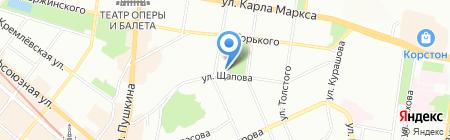 Театральное на карте Казани