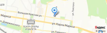 Банкомат Сбербанк России на карте Казани