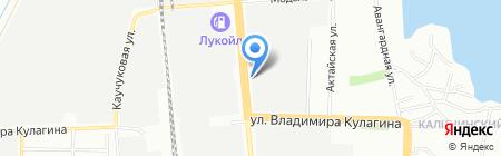 Финэстра на карте Казани