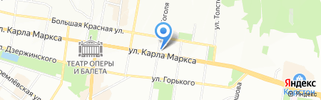 Трактир на Гоголя на карте Казани