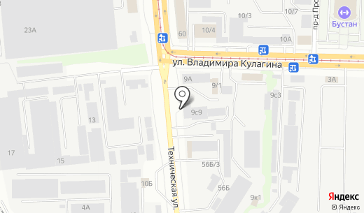 Зенит. Схема проезда в Казани