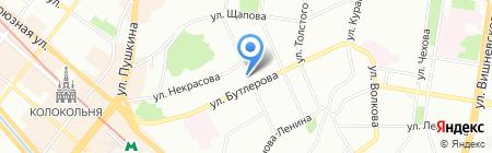 Ван на карте Казани